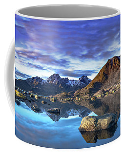 Rock Reflection Landscape Coffee Mug