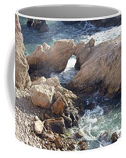 Rocks At Montana De Oro Coffee Mug