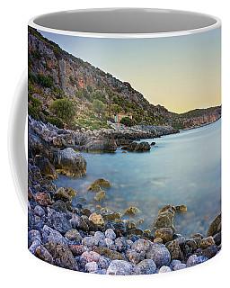 Rocky Coast Near Monemvasia Coffee Mug