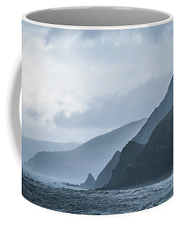 Rocky Coastline In West Wales Coffee Mug