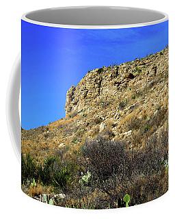 Rocky Crag And Sky Coffee Mug