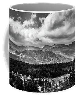 Rocky Foothills Bw Coffee Mug