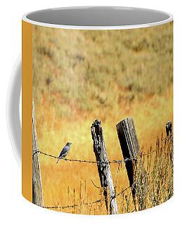 Rocky Mountain Blue Bird Coffee Mug