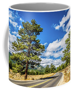 Coffee Mug featuring the photograph Rocky Mountain Highway by James L Bartlett