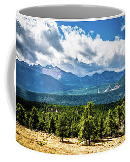 Coffee Mug featuring the photograph Rocky Mountain Np I by James L Bartlett