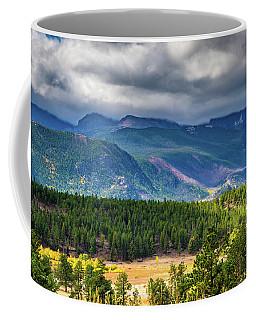 Rocky Mountains - Green Coffee Mug