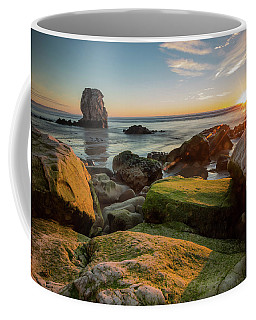 Rocky Pismo Sunset Coffee Mug