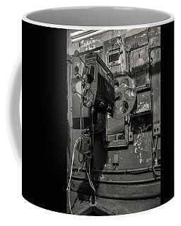 Coffee Mug featuring the photograph Roll The Film - Bw by Kristia Adams