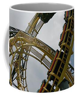 Roller Coaster Loops Coffee Mug