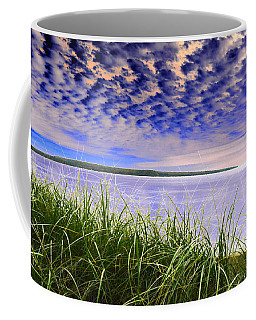 Rolling Blue Sky Over Lake Superior Coffee Mug