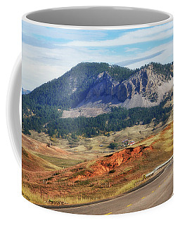 Rolling Hills In Wyoming Usa Coffee Mug