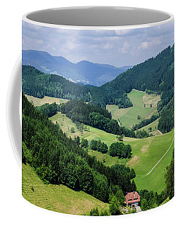 Rolling Hills Of The Black Forest Coffee Mug