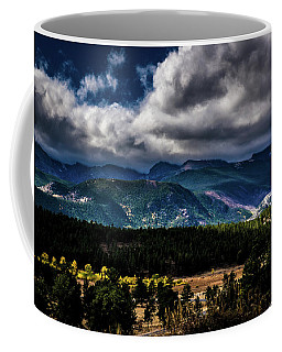 Coffee Mug featuring the photograph Rolling Rockies by James L Bartlett