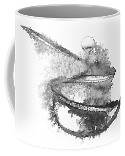 Rolling Stone - Abstract Ink Painting Coffee Mug