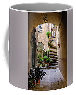 Coffee Mug featuring the photograph The Cobblestone Streets Of Sorrento Italy by Robert Bellomy