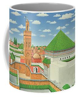 Rooftops, Marrakech Coffee Mug