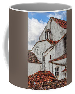 Rooftops Of Obidos Coffee Mug