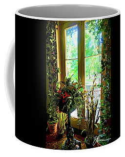 Coffee Mug featuring the photograph Room With A View by Joan Reese