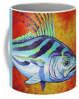 Rooster Fish 2 Coffee Mug