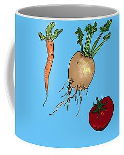 Root Vegetables Coffee Mug