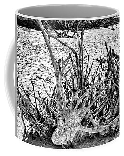Rooted In Black And White Coffee Mug