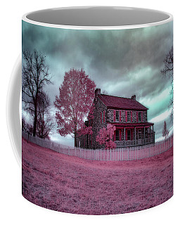 Rose Farm In Infrared Coffee Mug