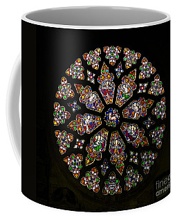 Rose Window, Stained Glass Coffee Mug