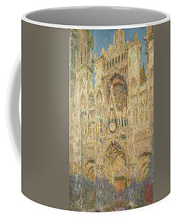 Rouen Cathedral In The Evening, 1894 Coffee Mug
