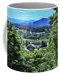 Round Barn Landscape Coffee Mug
