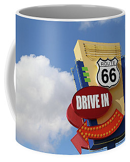 Route 66 Drive-in Sign Coffee Mug