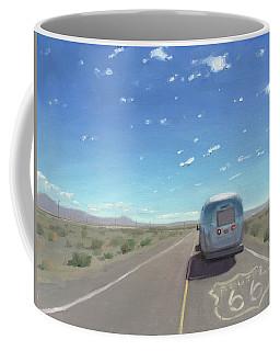 Route 66, Somewhere In California Coffee Mug