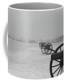 Row Of Cannon Coffee Mug