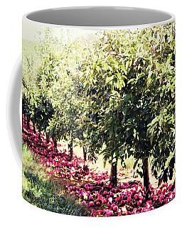Row Of Red Coffee Mug
