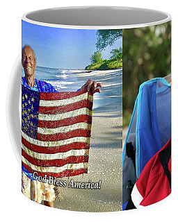Roy Haase Coffee Mug - God Bless America Coffee Mug