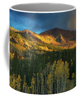 Coffee Mug featuring the photograph Ruby Range Sunrise by John De Bord