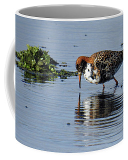 Coffee Mug featuring the photograph Ruff 40407 by Rick Veldman