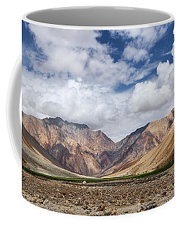 Coffee Mug featuring the photograph Rugged Himalayan Mountains by Whitney Goodey