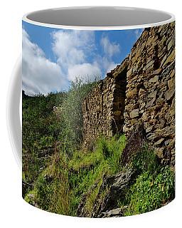 Ruins Of A Schist Cottage In Alentejo Coffee Mug