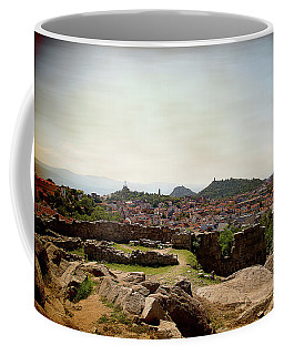 Ruins On The Top Of The Hill Coffee Mug