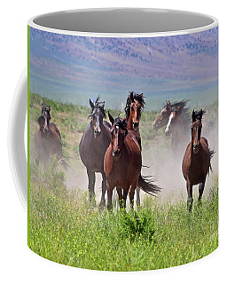 Running Together Coffee Mug
