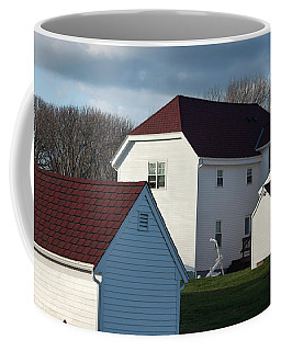 Rural New England - Ode To Wolf Kahn In Watercolor Coffee Mug
