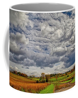 Coffee Mug featuring the photograph Rural New Paltz Hudson Valley Ny by Susan Candelario