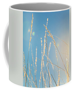 Coffee Mug featuring the photograph Rural Sunflare by Dan Sproul