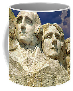 Coffee Mug featuring the photograph Rushmore by Edmund Nagele