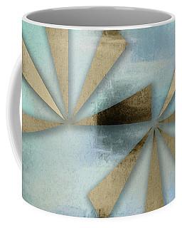 Rusted Triangles On Blue Grey Backdrop Coffee Mug