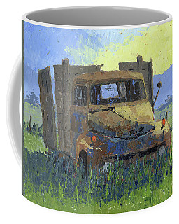 Rusty Sunrise Coffee Mug