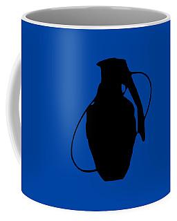 Coffee Mug featuring the digital art Sa Grenade by Bfm
