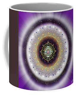 Coffee Mug featuring the digital art Sacred Geometry 729 by Endre Balogh