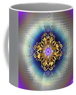 Coffee Mug featuring the digital art Sacred Geometry 730 by Endre Balogh