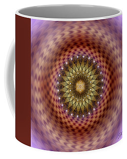 Coffee Mug featuring the digital art Sacred Geometry 735 by Endre Balogh